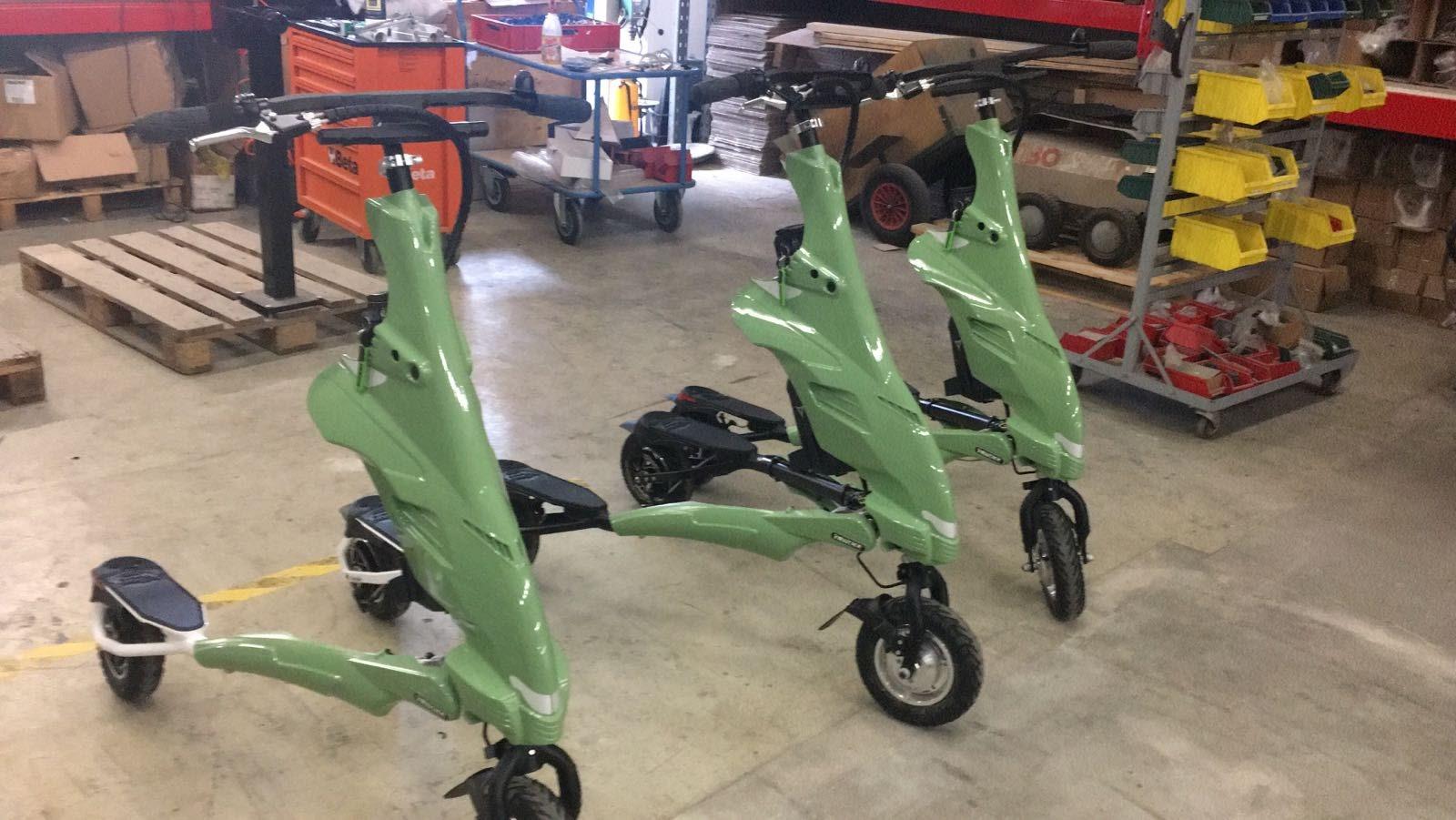 Nowe modele elektrycznych Trikke EV5.1