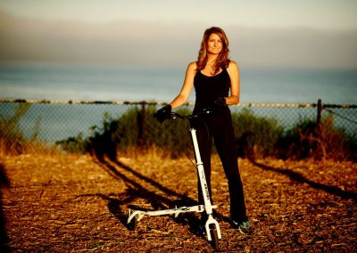 T7 Fitness woman posing