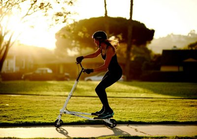 T7 Fitness woman riding1