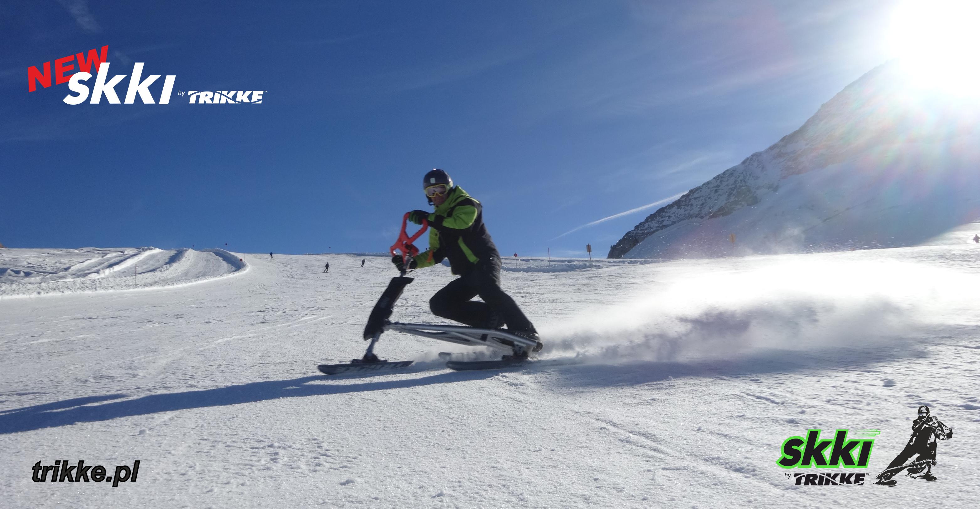 Otwarcie sezonu na lodowcu Hintertux ze Skki Trikke. Zaproszenie