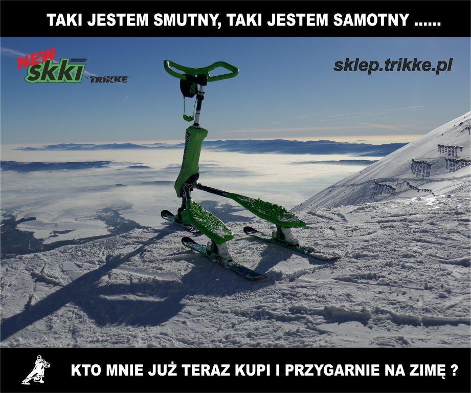 Kup nasz wyjątkowy nowy model Skki Trikke