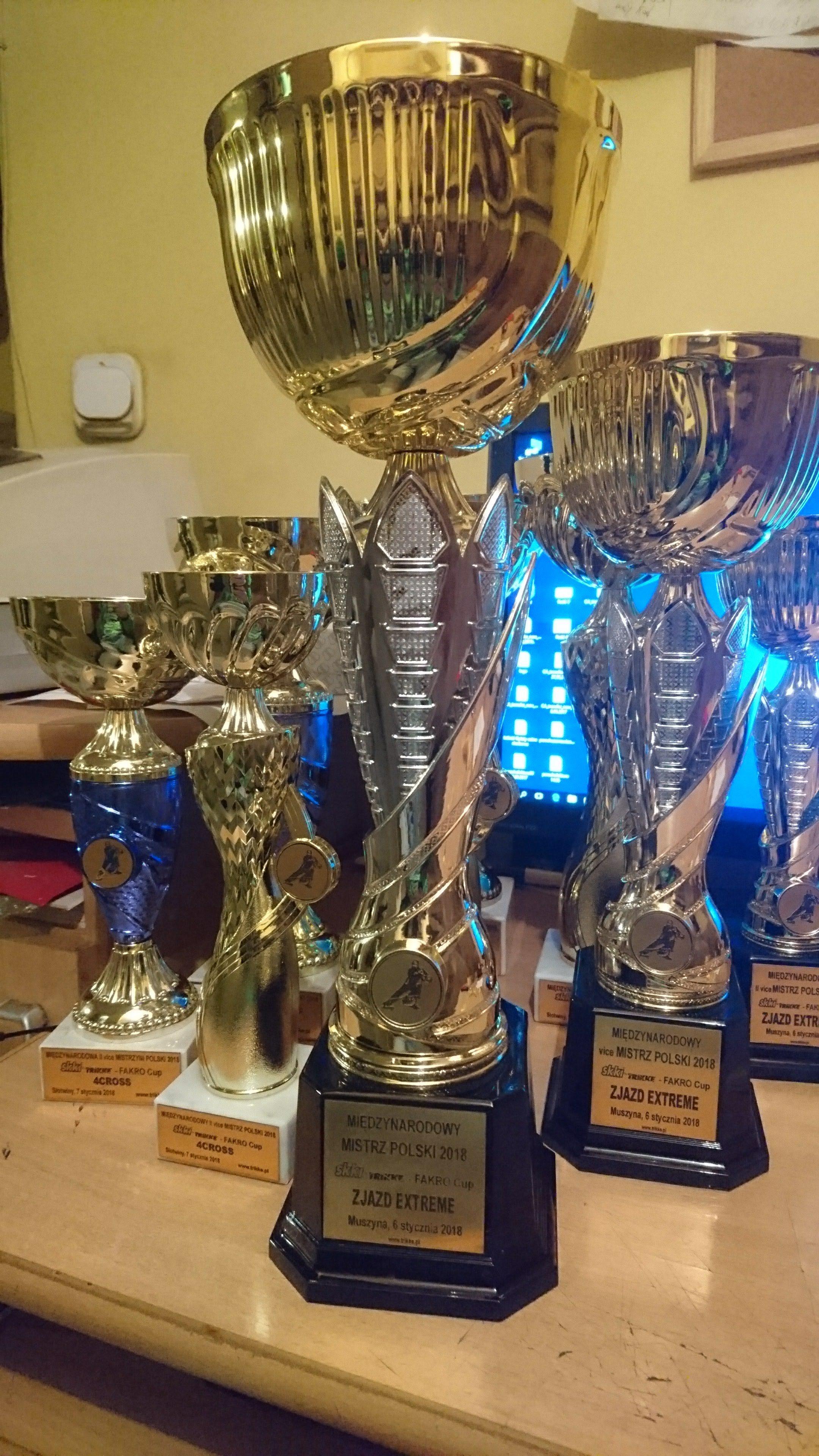 Przypominamy o naszych Mistrzostwach. Puchary już są gotowe.