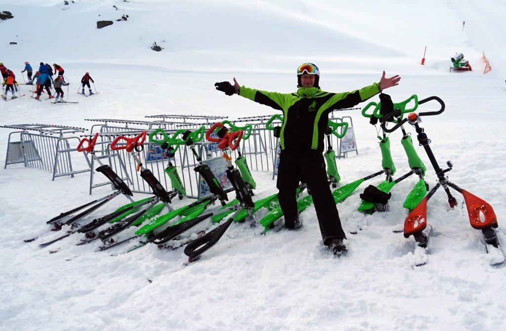 Rozpoczęcie sezonu zimowego Skki Trikke lodowiec Hintertux 2018 – Zaproszenie na testy.