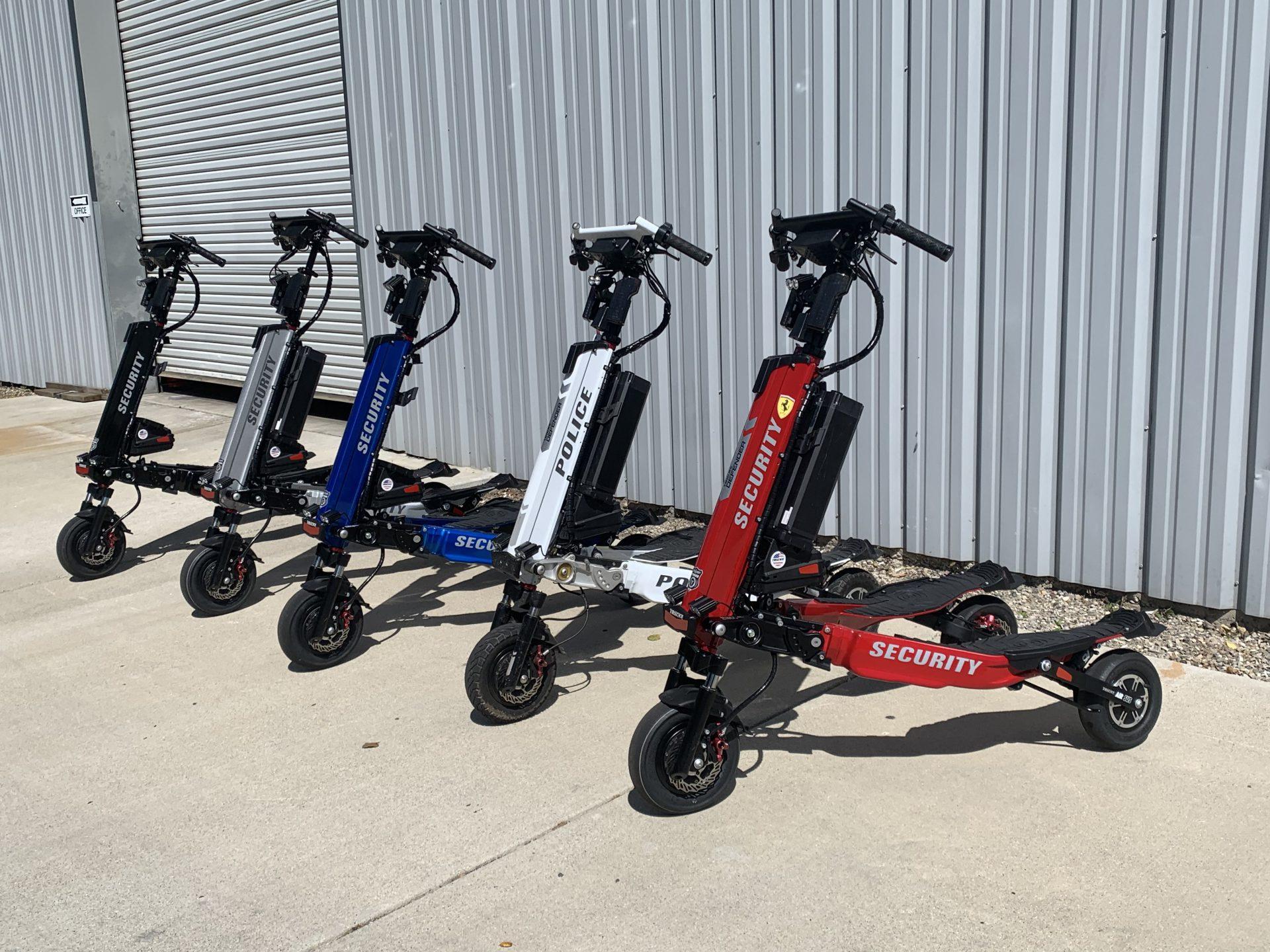 Elektryczne Trikke to również doskonały sprzęt transportowy