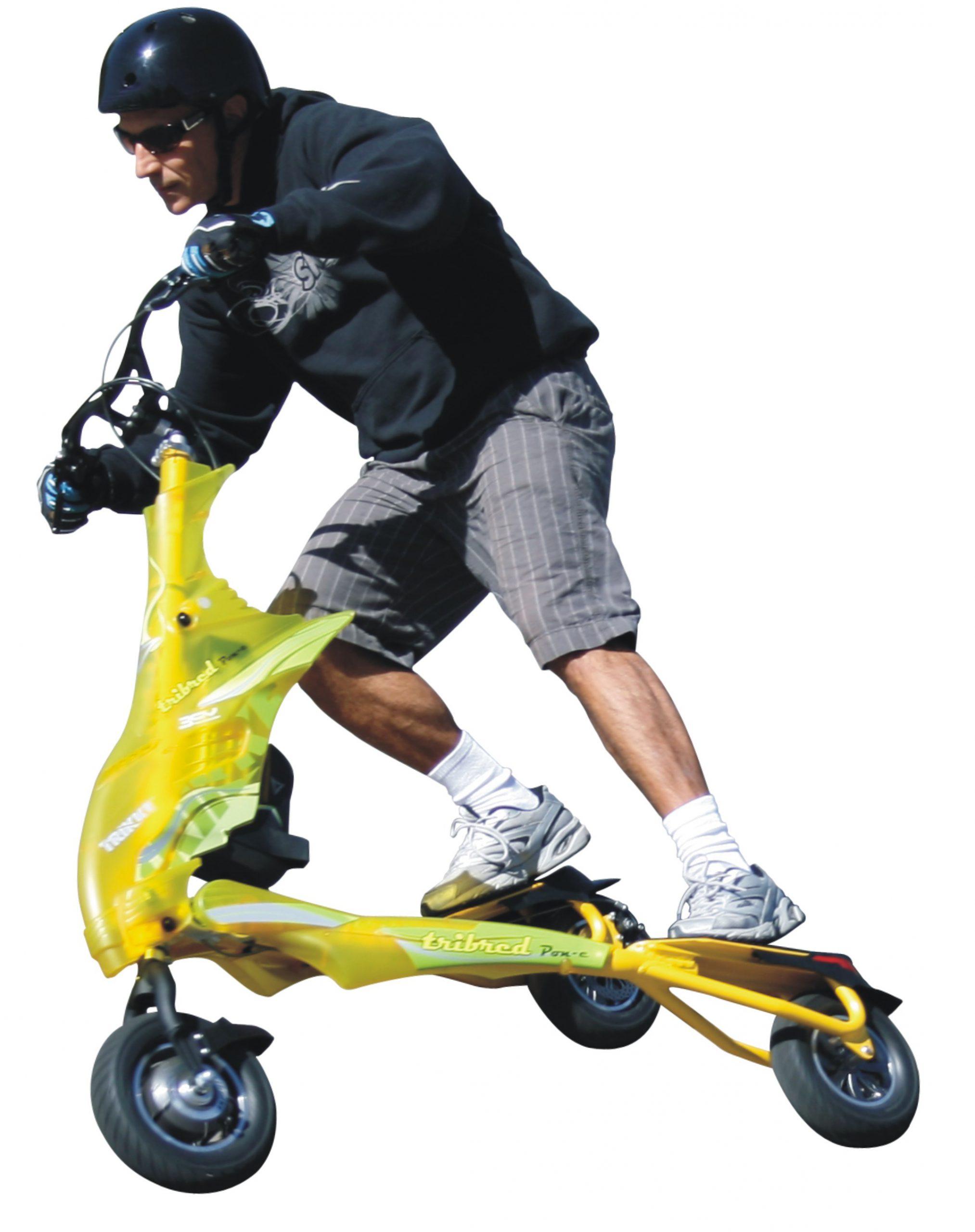 Elektryczny Trikke to zabawa, sport, komunikacja i wielka radość z jazdy!