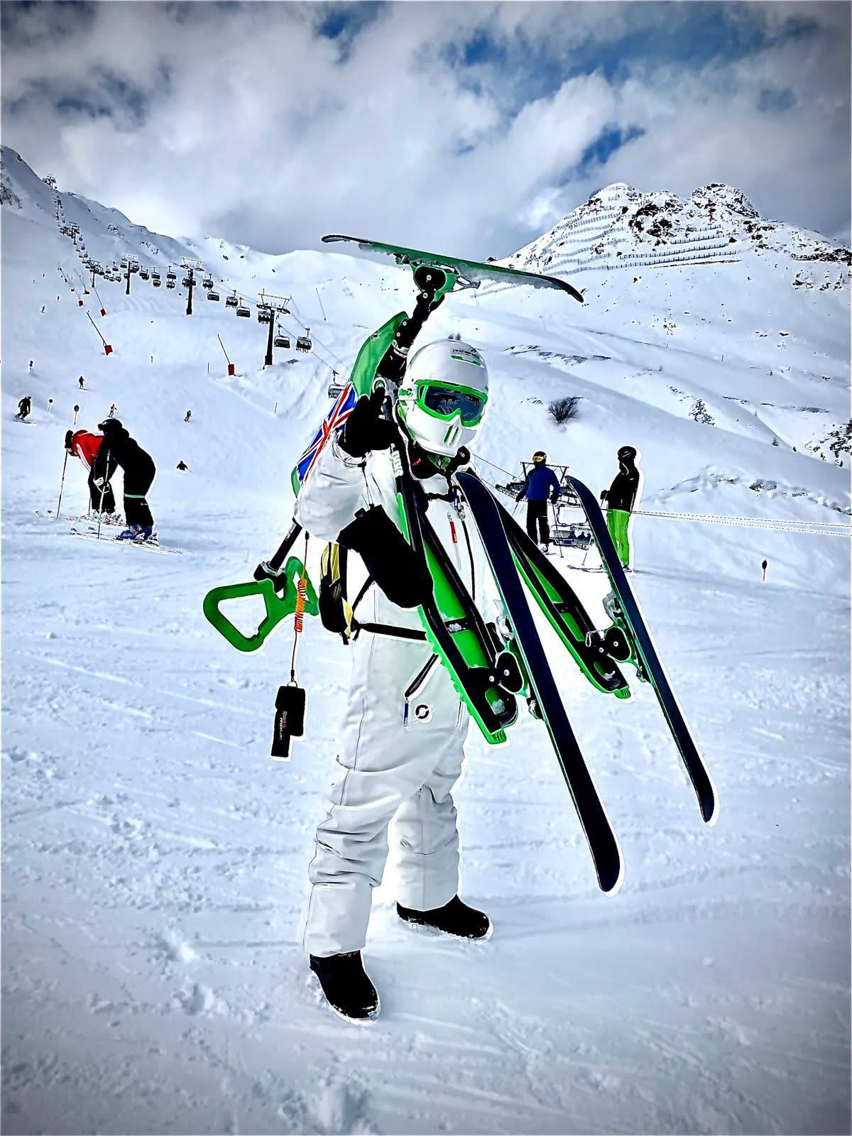 Najczęstrze przyczyny wypadków narciarskich a jazda na Skki Trikke