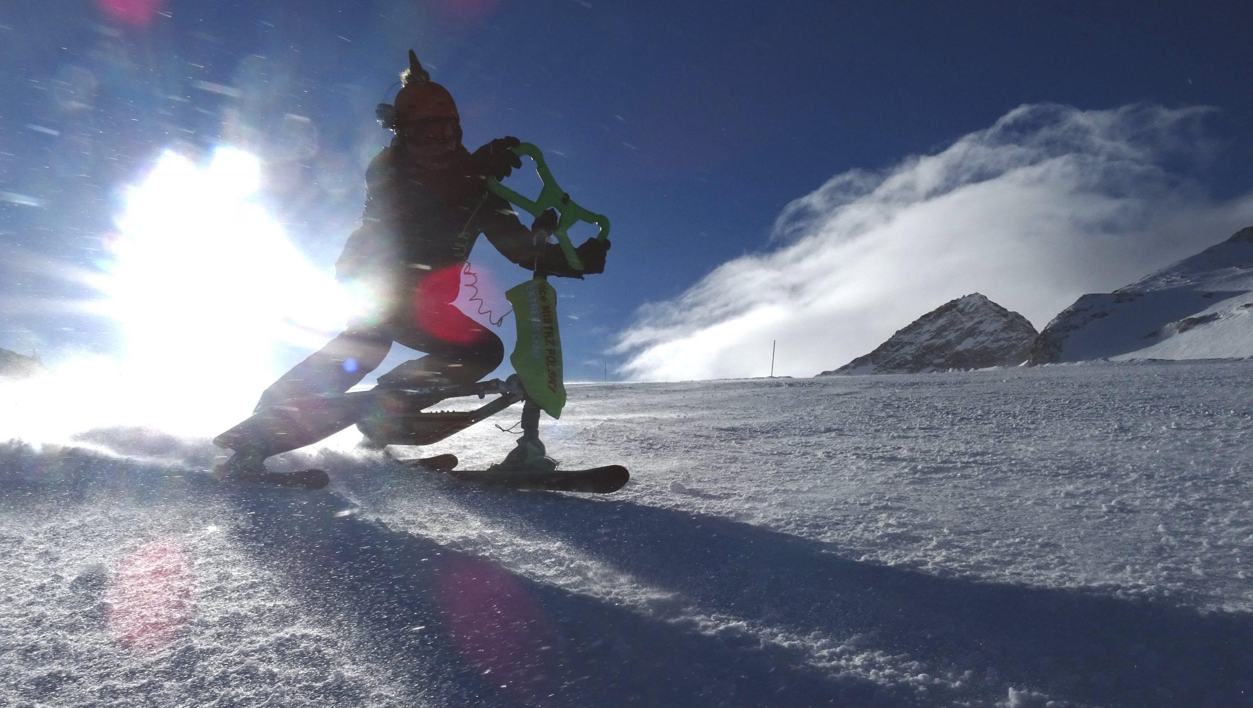 Co robi 85% uczących się jazdy na nartach?