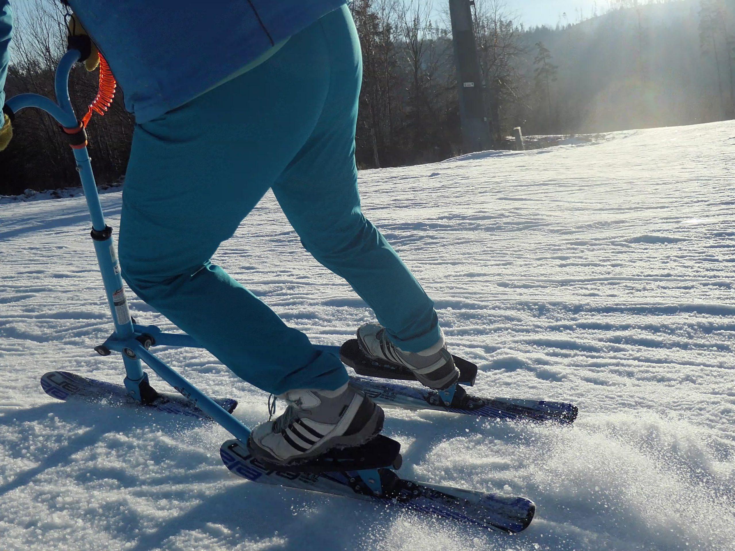 Laddy'Skki – kobiece narciarstwo. Łatwe, bezpieczne trzy narty.