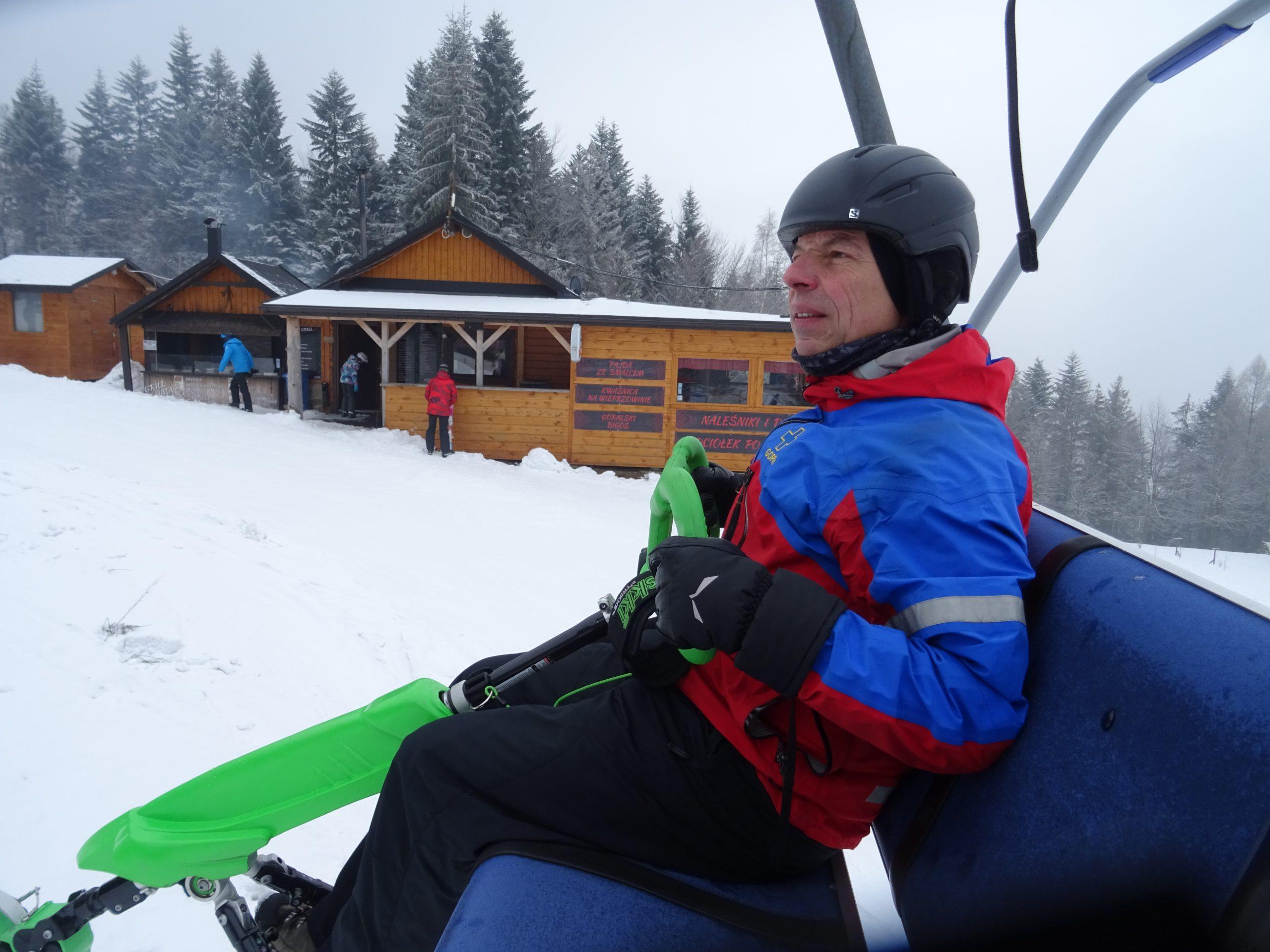 Szkolenie GOPR – wypadek narciarski – pomoc gdy jedziesz na Skki Trikke